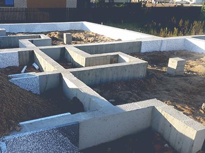 Visų tipų pamatų betonavimas